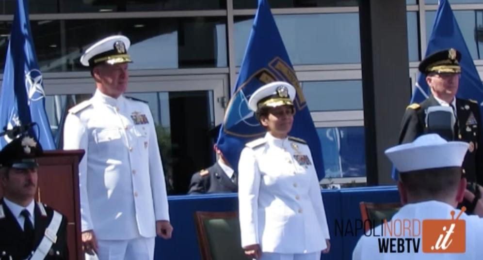 BASE NATO DI LAGO PATRIA, UNA DONNA AL COMANDO DEL Jfk. GUARDA IL VIDEO