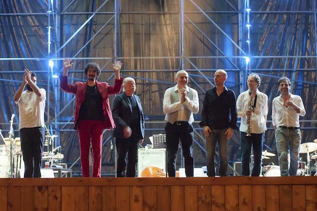 Arena Flegrea - Gino Paoli, Sergio Cammariere e Danilo Rea  foto: Roberto Della Noce