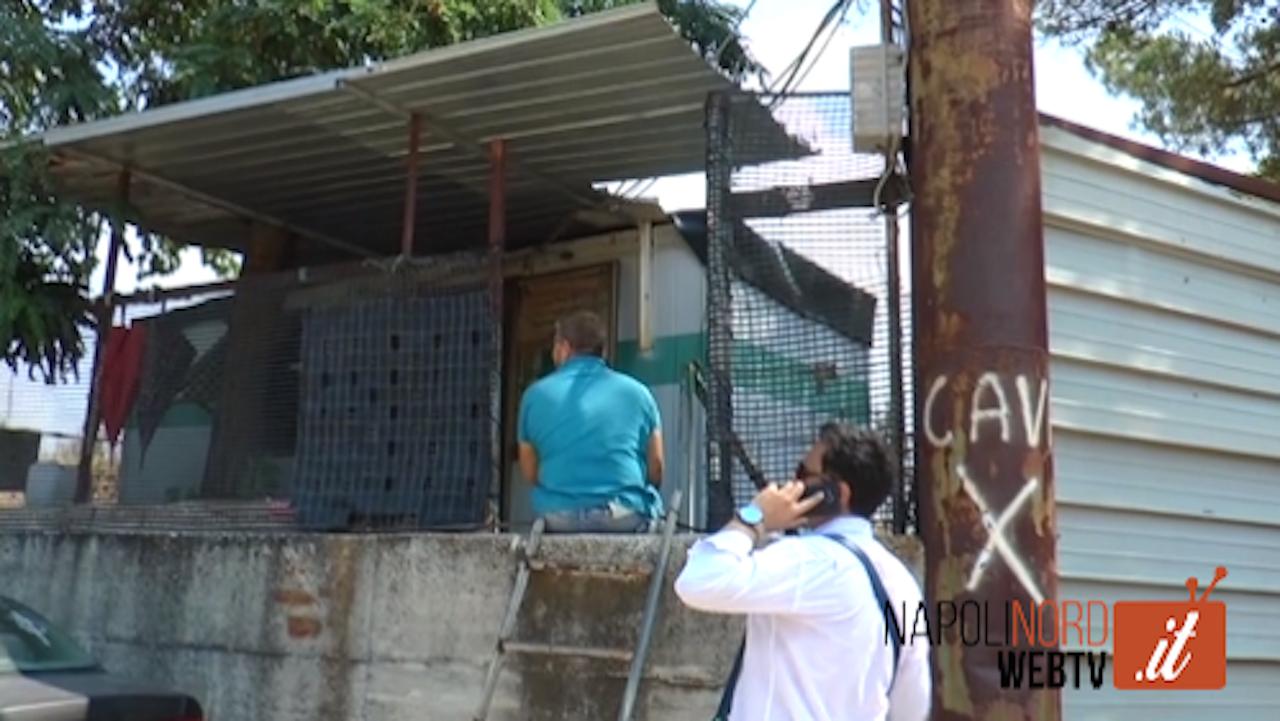 Consorzio Unico di Bacino, lavoratori senza stipendio da 50 mesi: controllano le discariche. Video