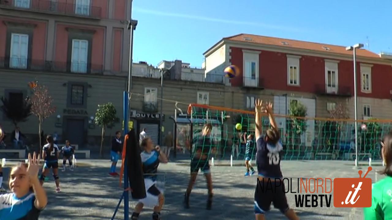 'Giugliano Sport Day', i giovani atleti riempiono le piazze del centro storico. Video