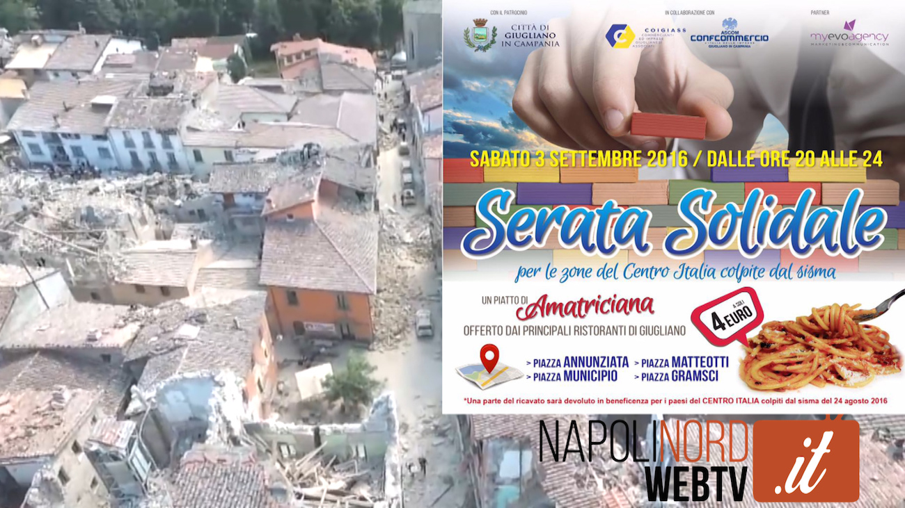 Ascom, Coigiass e Comune per i terremotati: spaghetti all'Amatriciana per beneficenza. Video