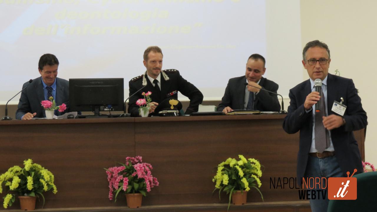 Bullismo e cyberbullismo: all'Its Galvani l'incontro tra giornalisti, scuola e carabinieri. Video