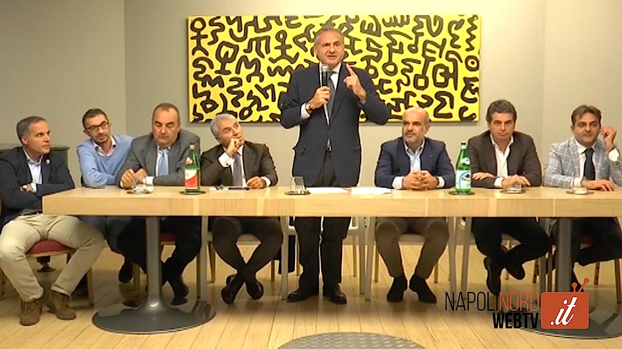 Elezioni all'Odcec Napoli Nord, incontro della lista 'Insieme per la professione'. Video