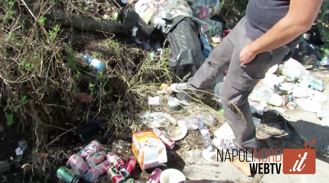'Una giornata normale nella Terra dei fuochi', dai rifiuti le tracce di chi versa illegalmente. Video