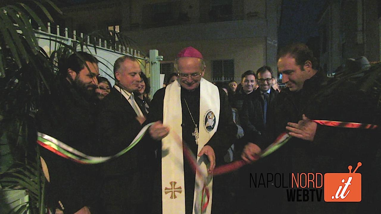 Giugliano, inaugurato in via Parente il centro polifunzionale della cooperativa sociale 'La famiglia al centro'. Video
