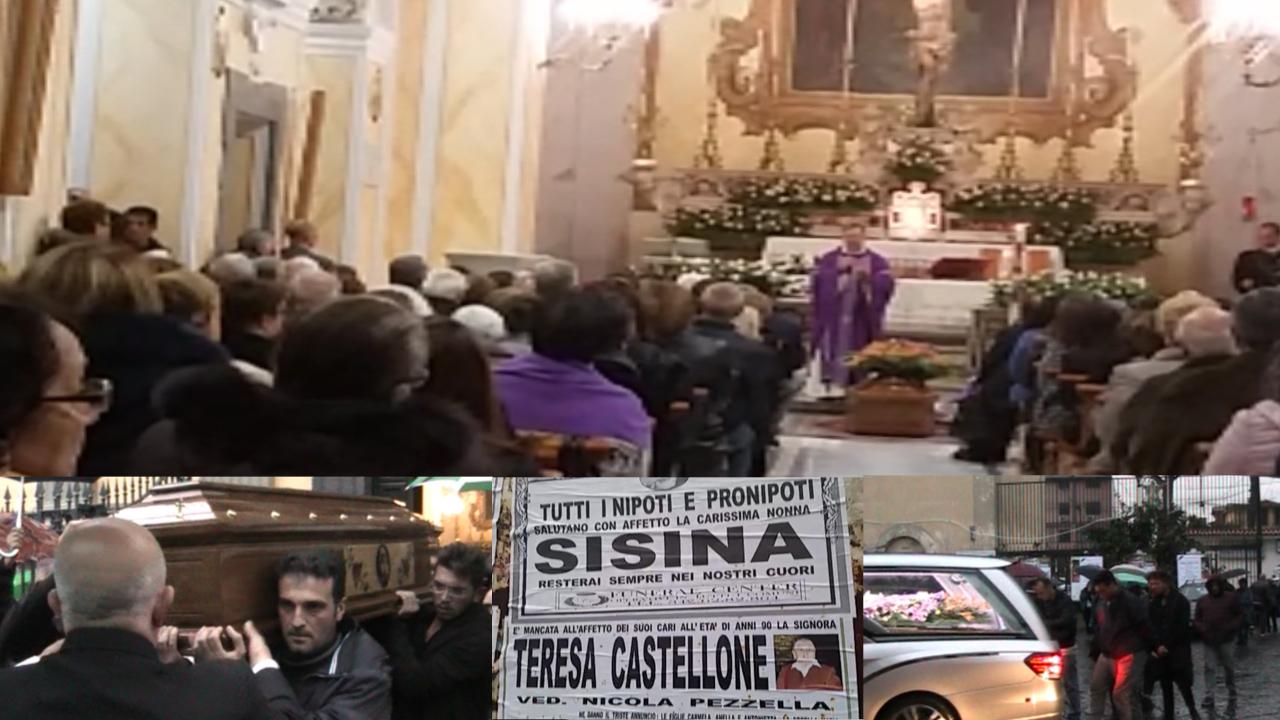 """Villaricca, anziana uccisa in casa: chiesa gremita per l'ultimo saluto. La nipote: """"Sei una grande donna"""". Video"""
