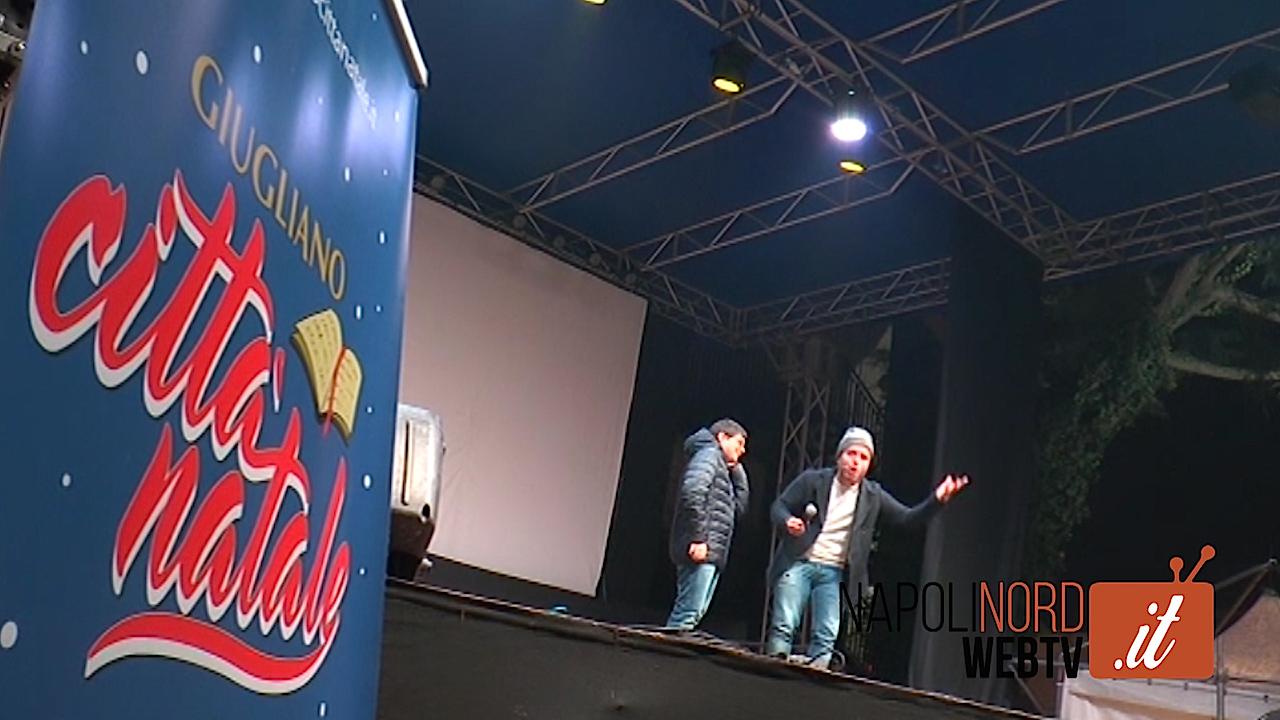 Musica, spettacoli per i bambini e cabaret: a Giugliano il Natale continua con gli eventi in piazza. Video