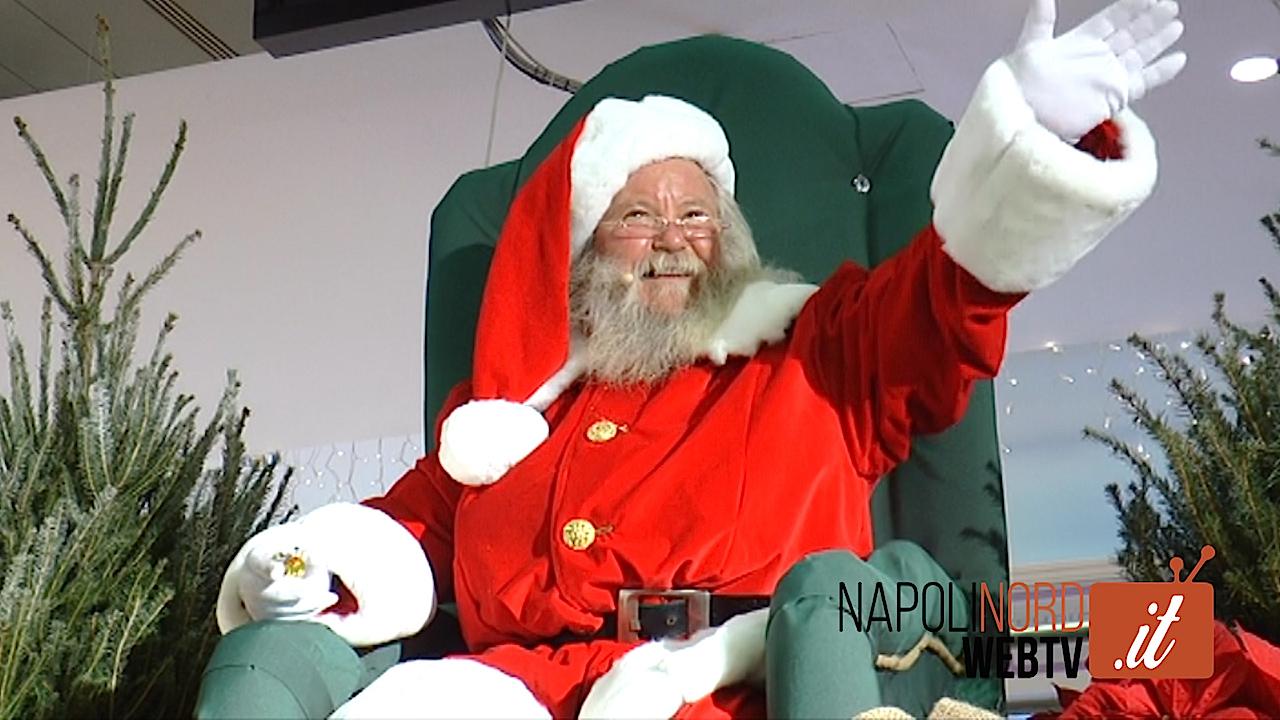 All'Auchan arriva Babbo Natale, scelto il Santa Claus dopo le selezioni del casting. Video