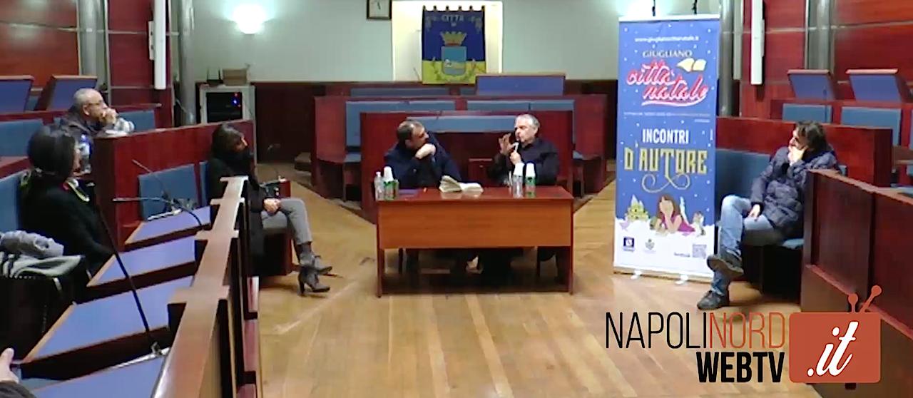 'Il pastore della meraviglia', don Gennaro Matino parla del presepe al Comune per 'Giugliano città Natale'. Video