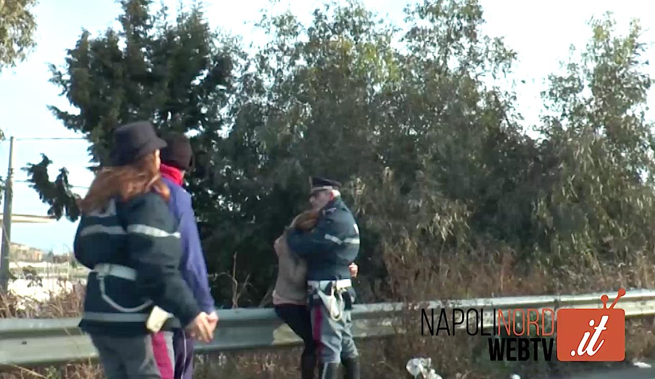 """Donna travolta e uccisa sull'Asse Mediano, la figlia sul luogo del dramma: """"E' mia madre"""". Video"""