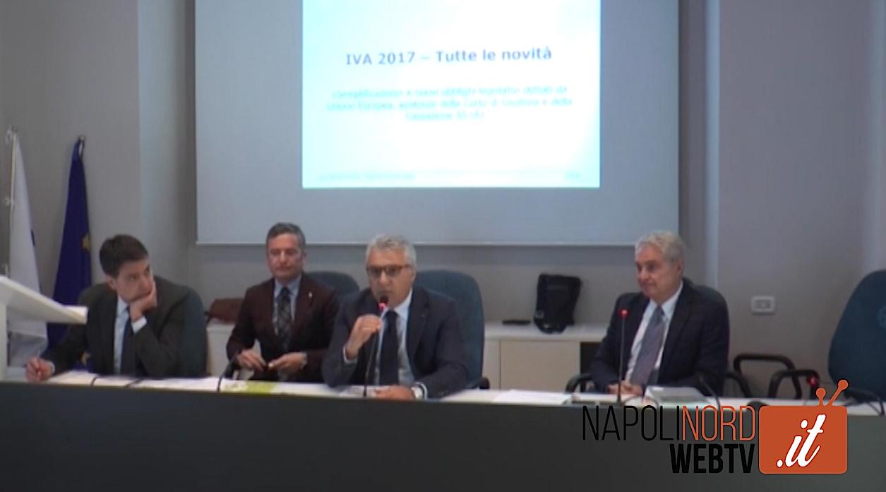 """Dichiarazione Iva, incontro all'Odcec Napoli Nord. I commercialisti: """"Pronti allo sciopero per le scelte del Governo"""". Video"""
