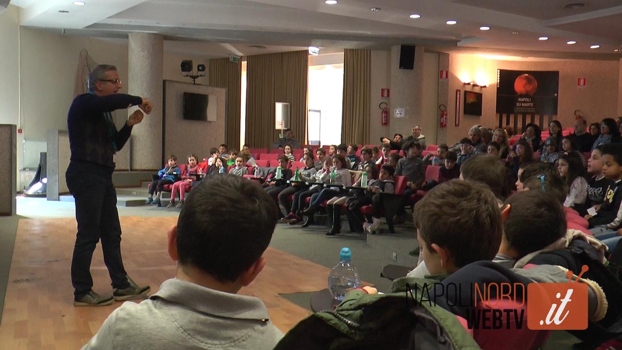 All'Osservatorio Astronomico di Napoli bambini a 'lezione' di stelle, comete e galassie con 'Astrokids'. Video