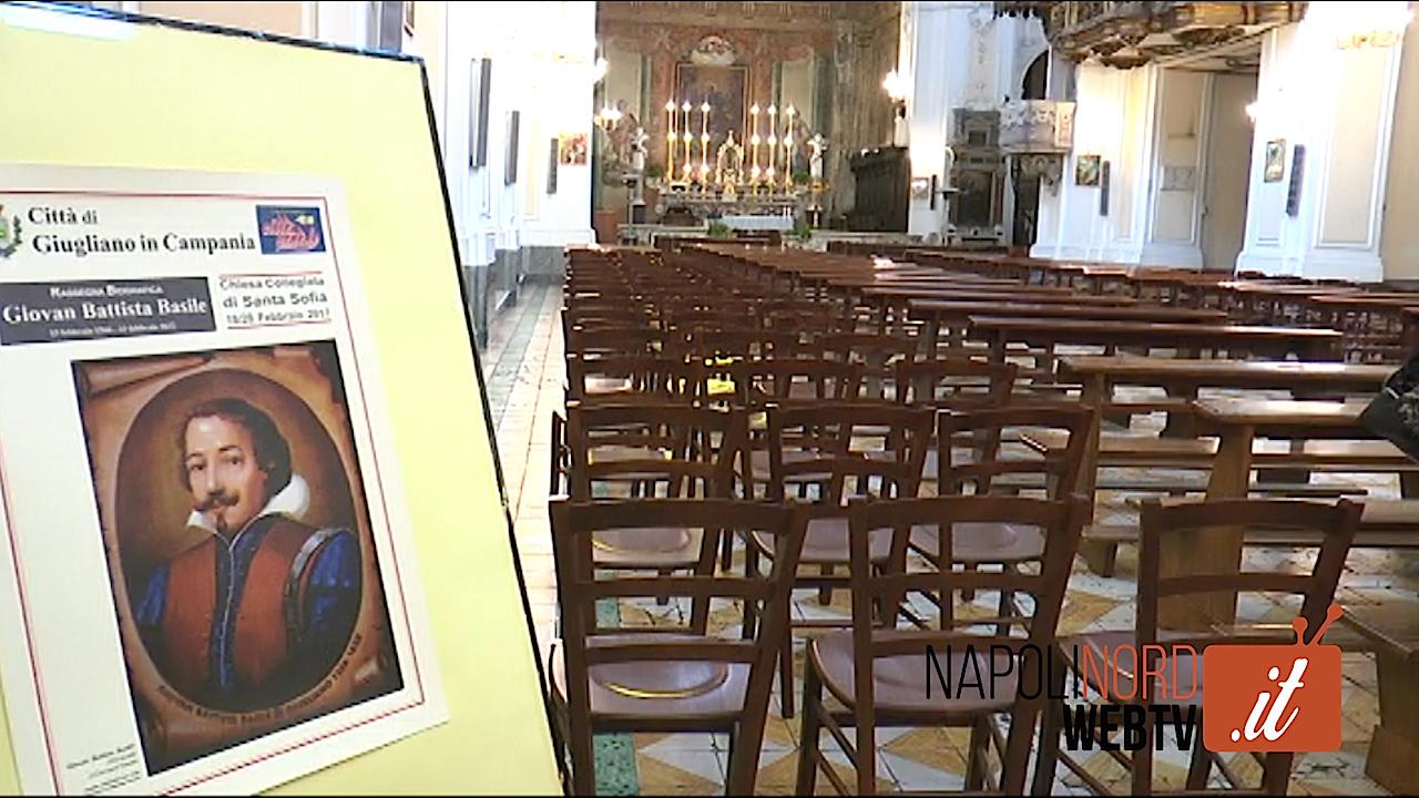 Nella chiesa dove è sepolto il Basile in mostra i documenti storici dello scrittore. Video