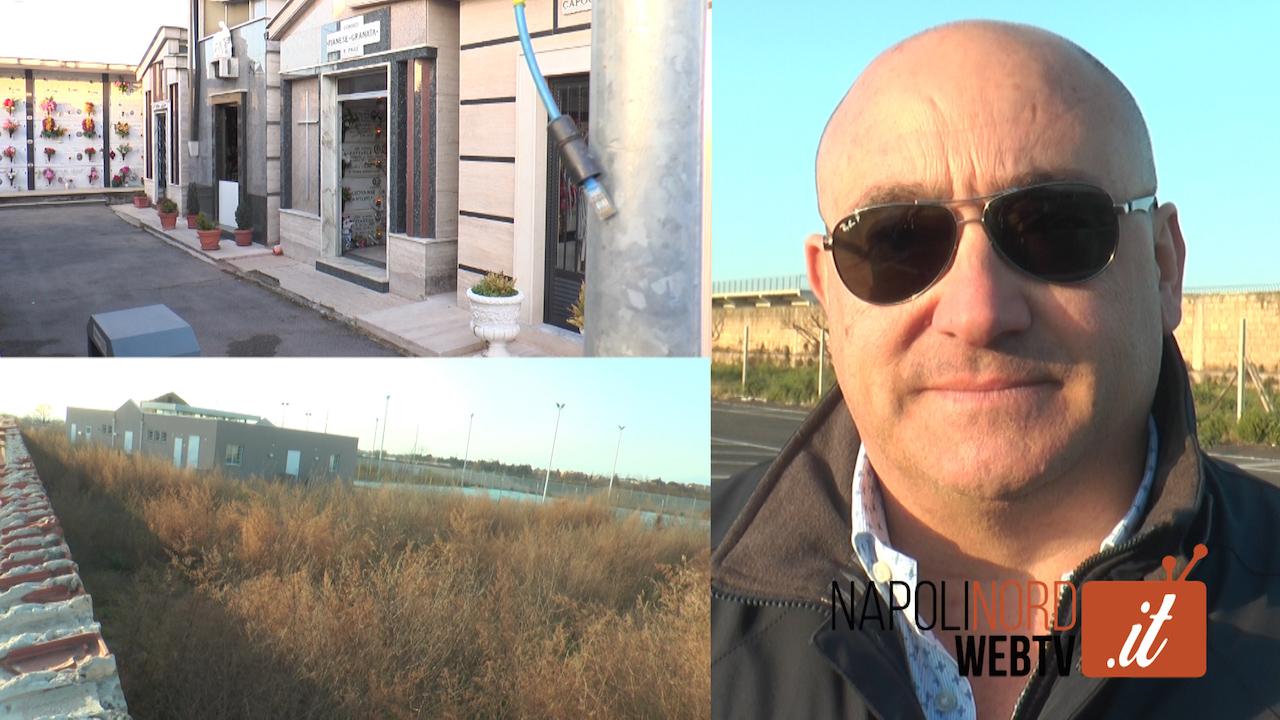 """Raid al cimitero di Qualiano, parla l'ex assessore Bonventura Cerqua: """"Tutto premeditato"""". Video"""