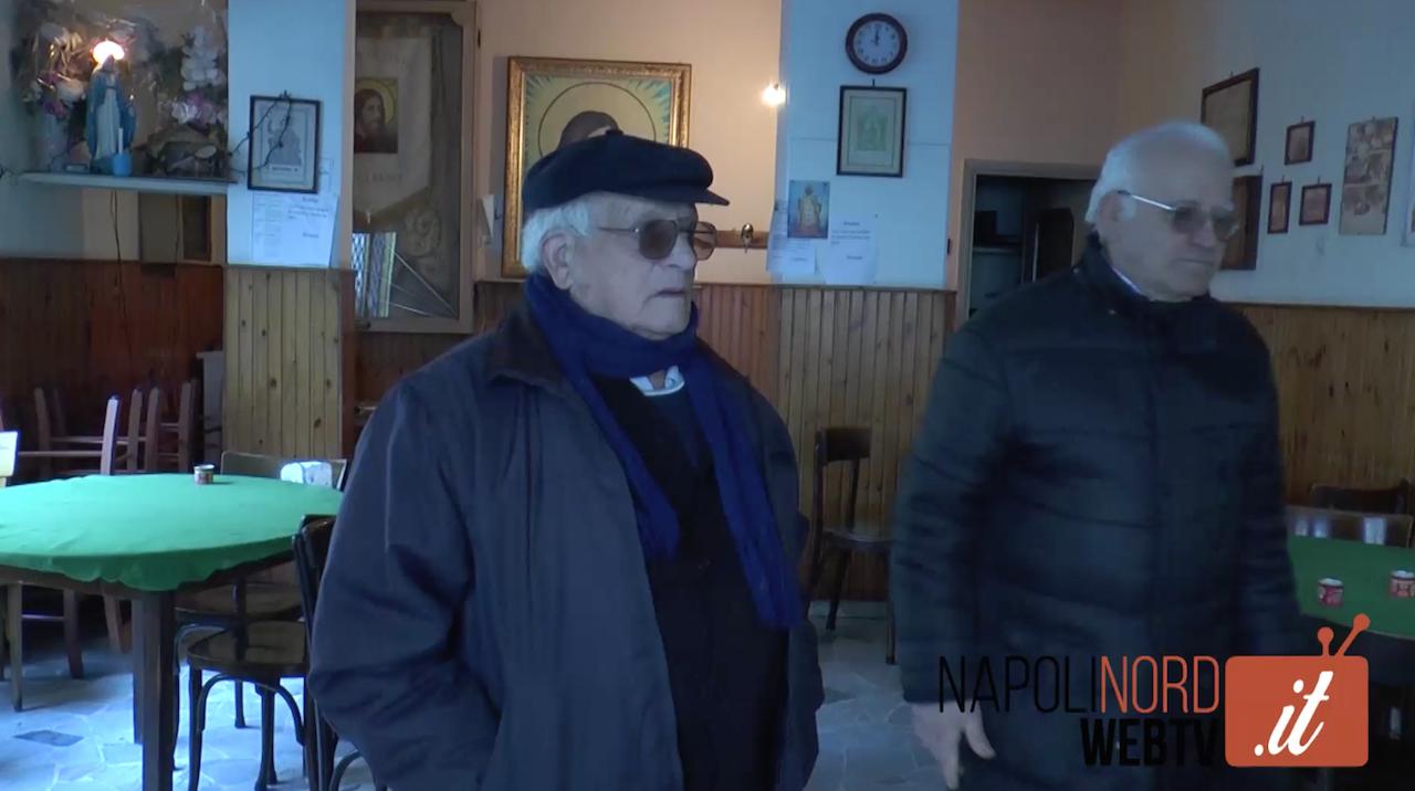 Giugliano, senza soldi e soli: a rischio chiusura l'associazione del Volto Santo di piazza Annunziata. Video