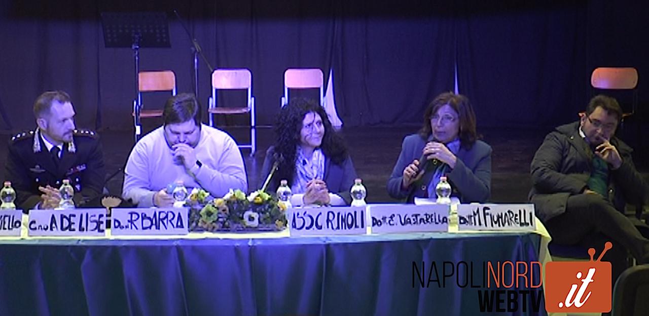 Violenza sulle donne, incontro degli alunni della scuola media Vitale di Lago Patria con gli esperti. Video
