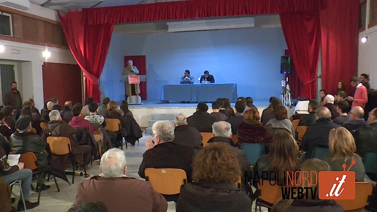 """'No alla Camorra', assemblea di Polis. L'imprenditore Leonardi: """"La criminalità si combatte con la gente che si oppone"""". Video"""