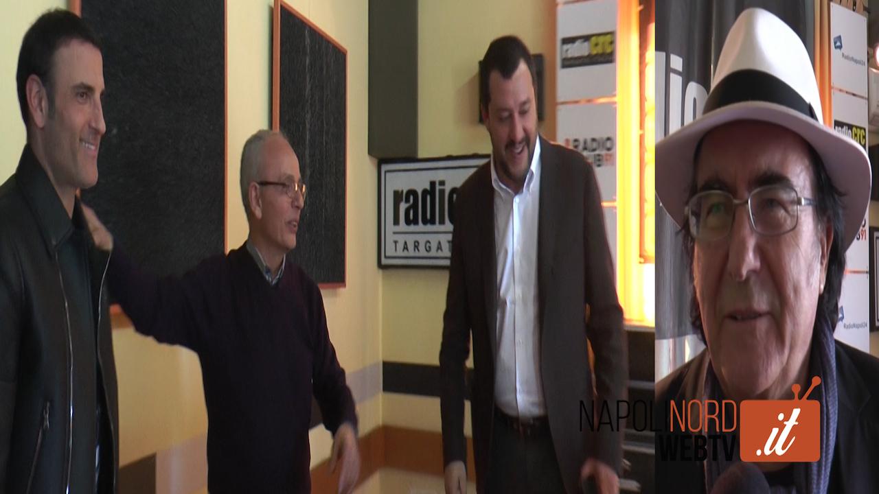 Salvini a Napoli, ecco cosa pensano Al Bano e Sal Da Vinci. Video