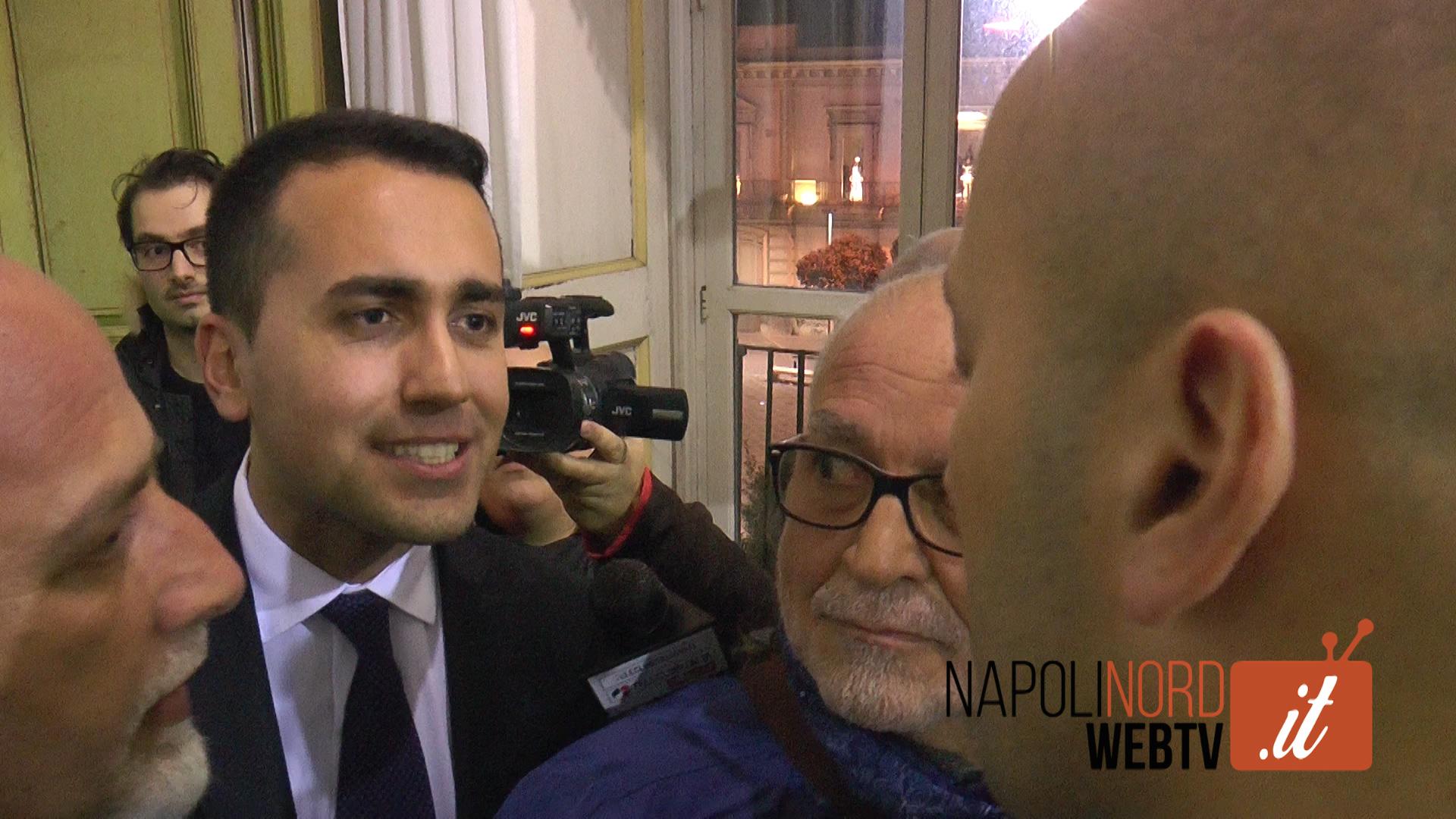 Angelo Ferrillo contro il vicepresidente della Camera Di Maio sul processo dell'esclusione dalla lista del Movimento 5 Stelle. Video