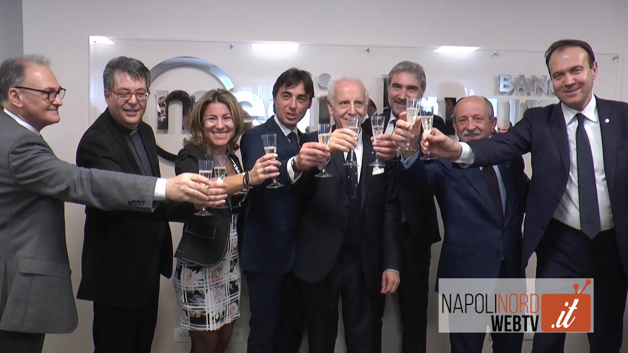 Banca Mediolanum, inaugurata la sede di Napoli in via Filangieri. Video