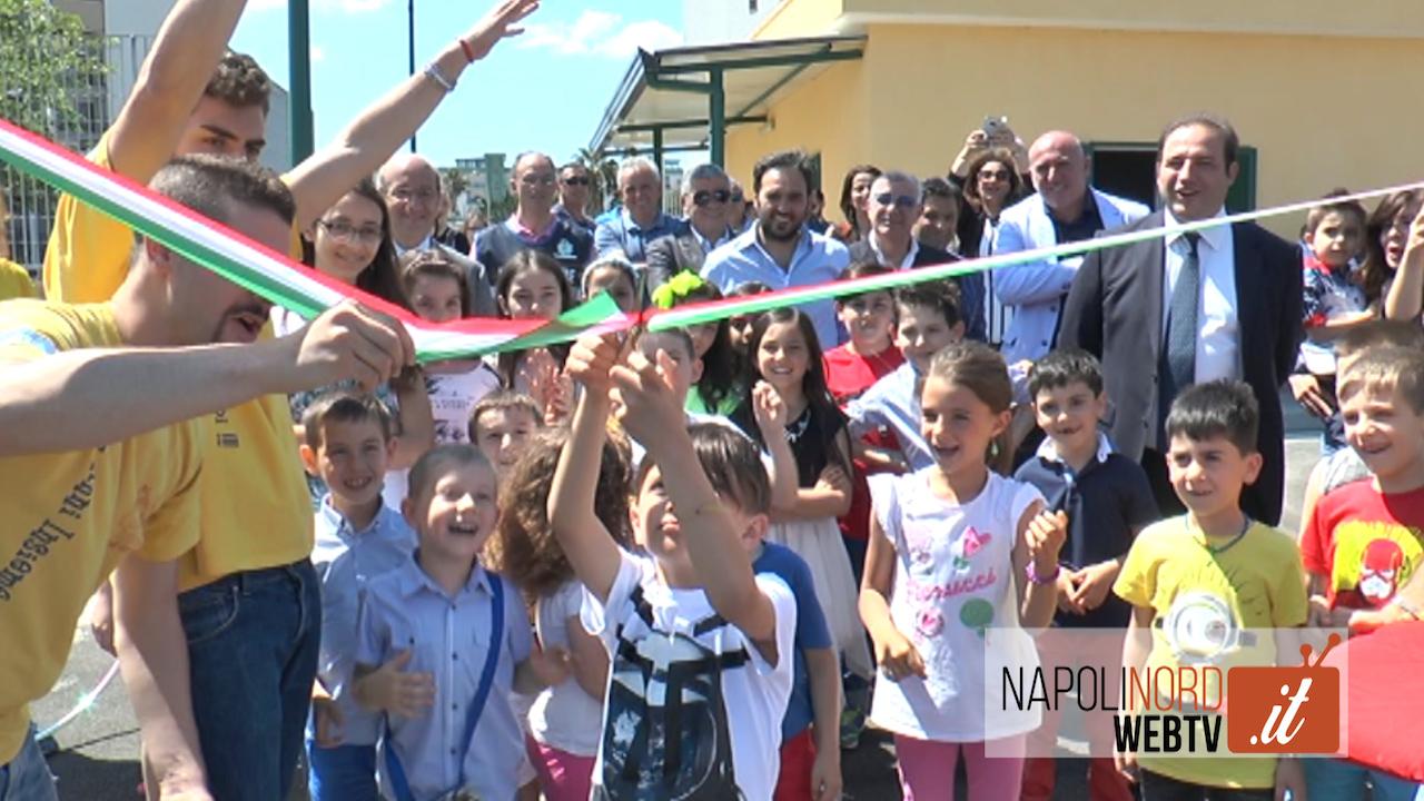 """Inaugurata l'isola ecologica in via Selva Piccola, il sindaco Poziello: """"Aumentati i conferimenti"""". Video"""