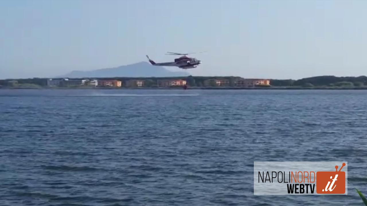 """Incendio a Lago Patria, Franciosi (Lipu): """"Abbiamo visto chi ha appiccato il rogo"""". Video"""