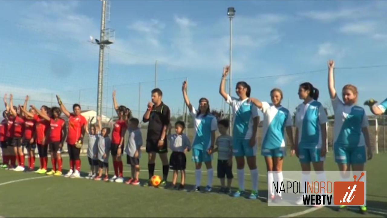 Beneficenza, 'Braccialetti Rosa': quadrangolare di calcio al femminile per la raccolta fondi. Video