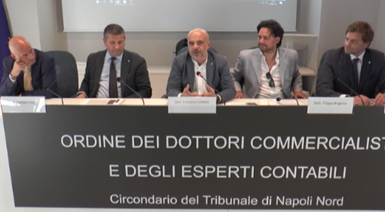 All'Odcec Napoli Nord esperti a confronto sulle Pmi. Video