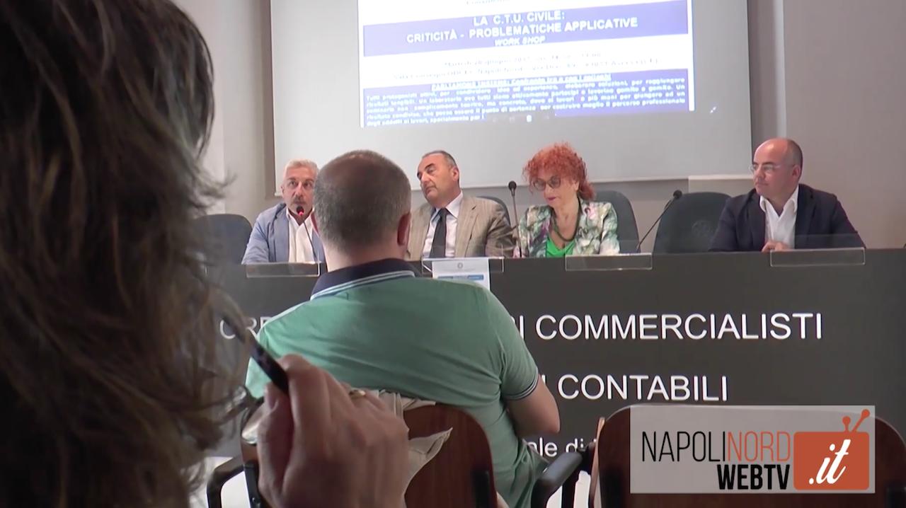 Consulenze tecniche d'ufficio per il tribunale di Napoli Nord, incontro all'Odcec Napoli Nord. Video