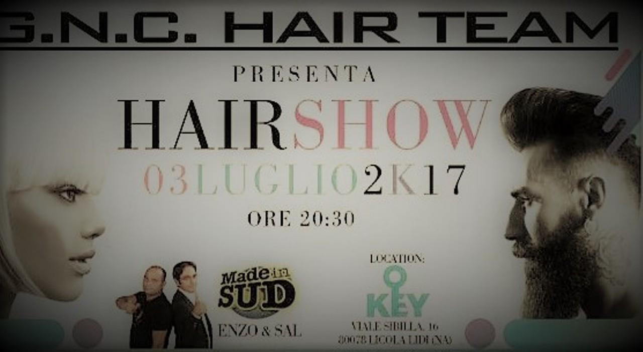 Giovani hair stylist sul palco del Key Beach per l'evento targato G.N.C. Video
