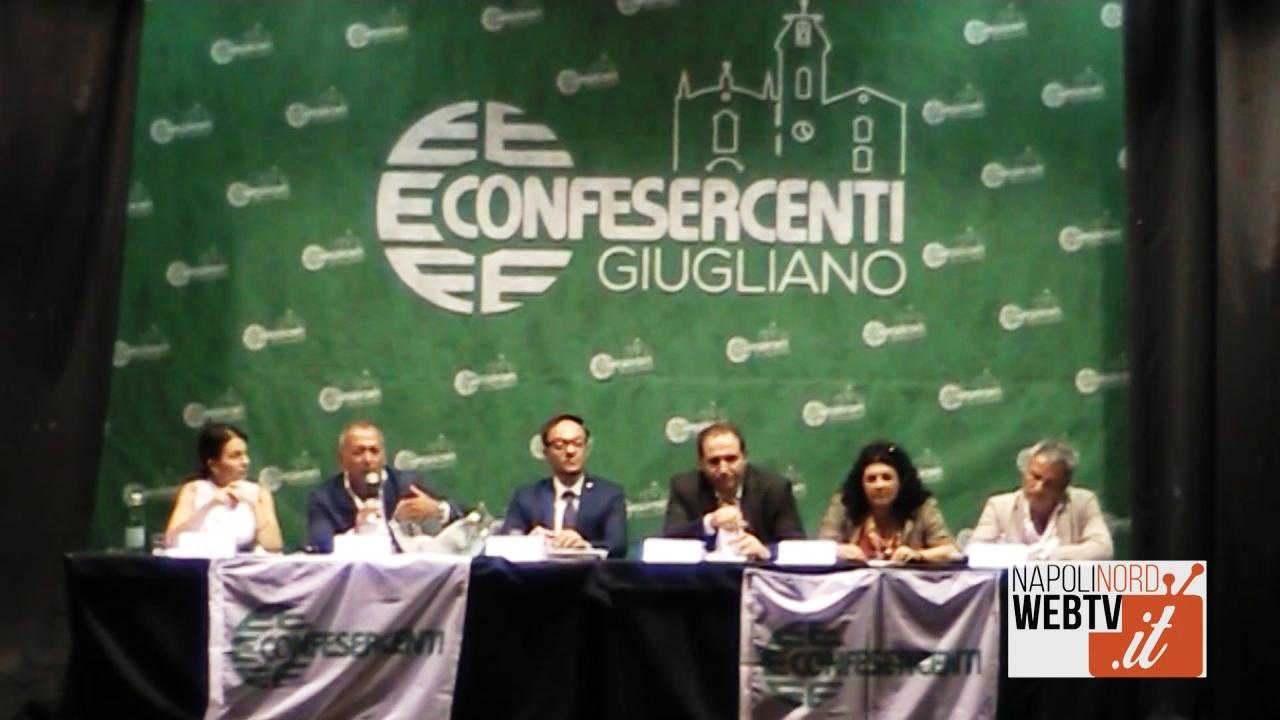 Confesercenti, presentato il nuovo direttivo di Giugliano: Rosario Porcaro alla presidenza. Video
