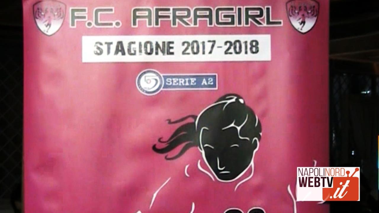 Calcio femminile a Giugliano, presentata la squadra di calcio a 5 Afragirl: giocherà in A2. Video