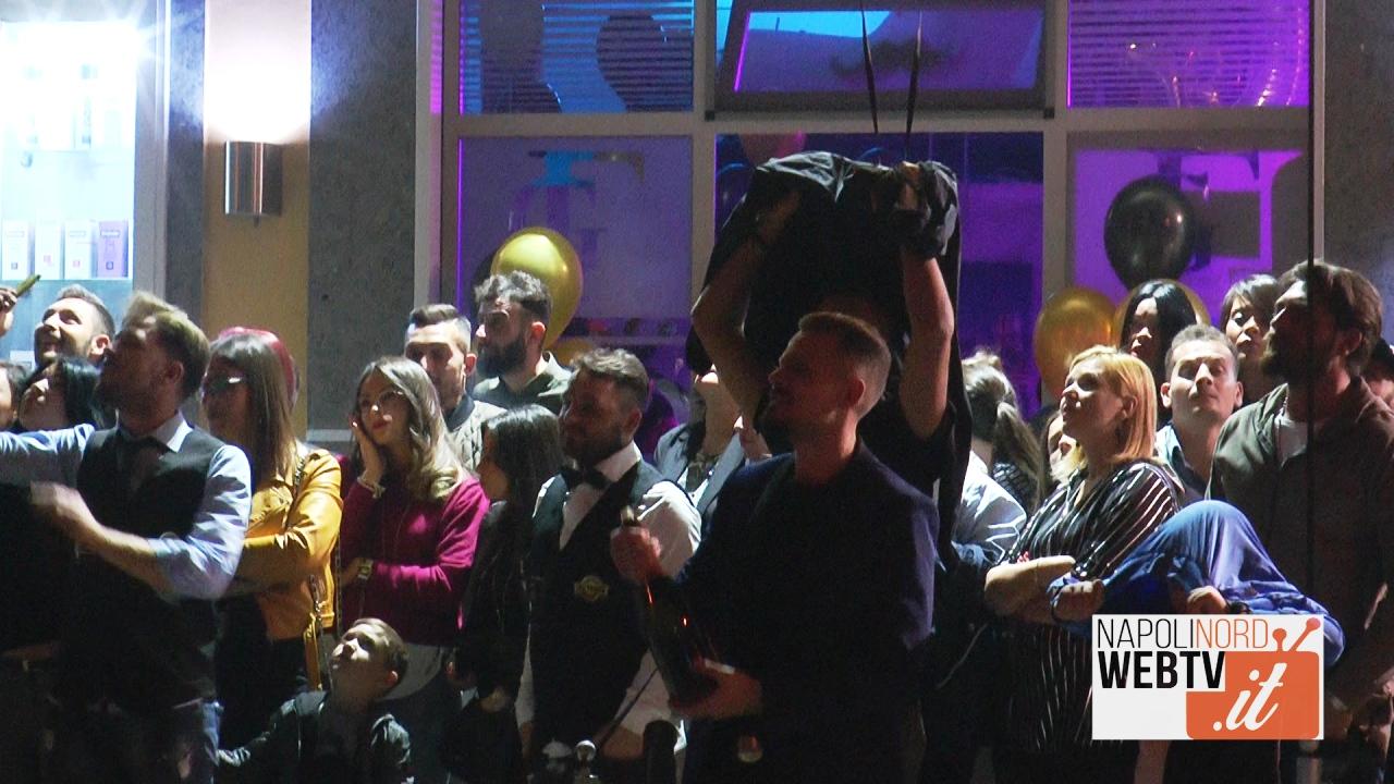 Girolamo Figuccio, dieci anni di attività come hair stylist: festa grande alla Gf Parrucchieri di Giugliano. Video