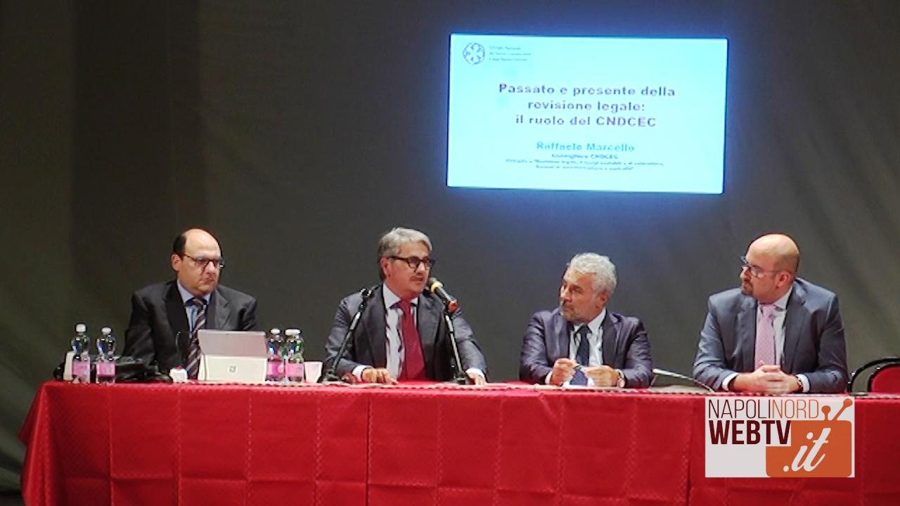 Ordine dei Commercialisti di Napoli Nord, in arrivo nuovi revisori legali per evitare scandali e fallimenti. Video