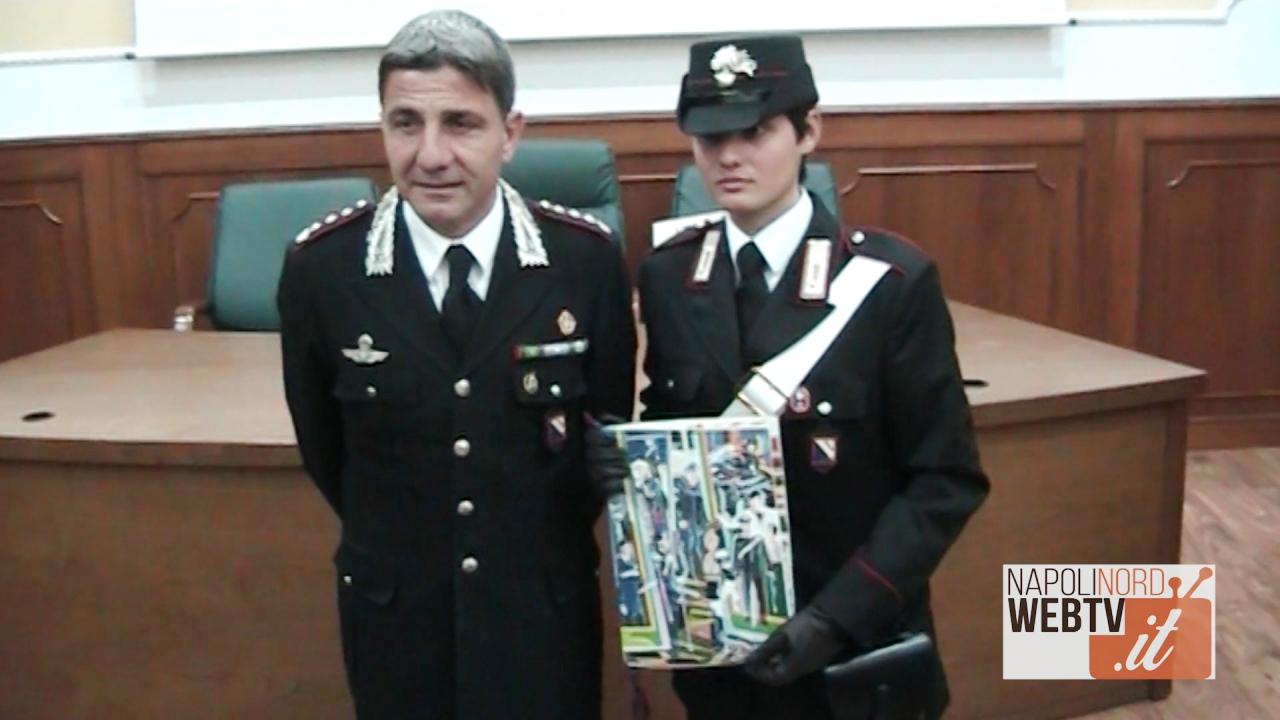 Carabinieri, presentato il calendario dell'Arma per il 2018: per ogni mese c'è l'opera di un artista internazionale. Video