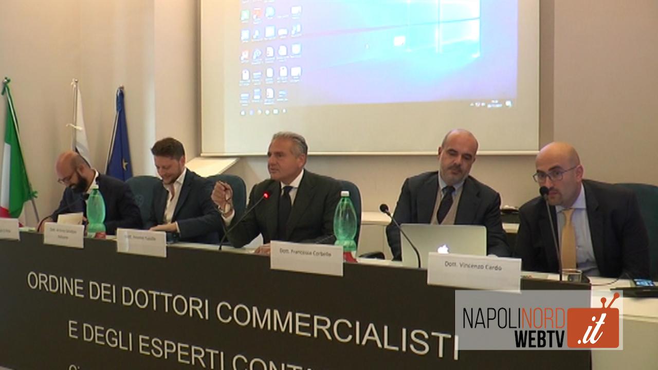 Crisi e fallimenti, incontro all'Odcec Napoli Nord per discutere di audit e continuità aziendale. Video