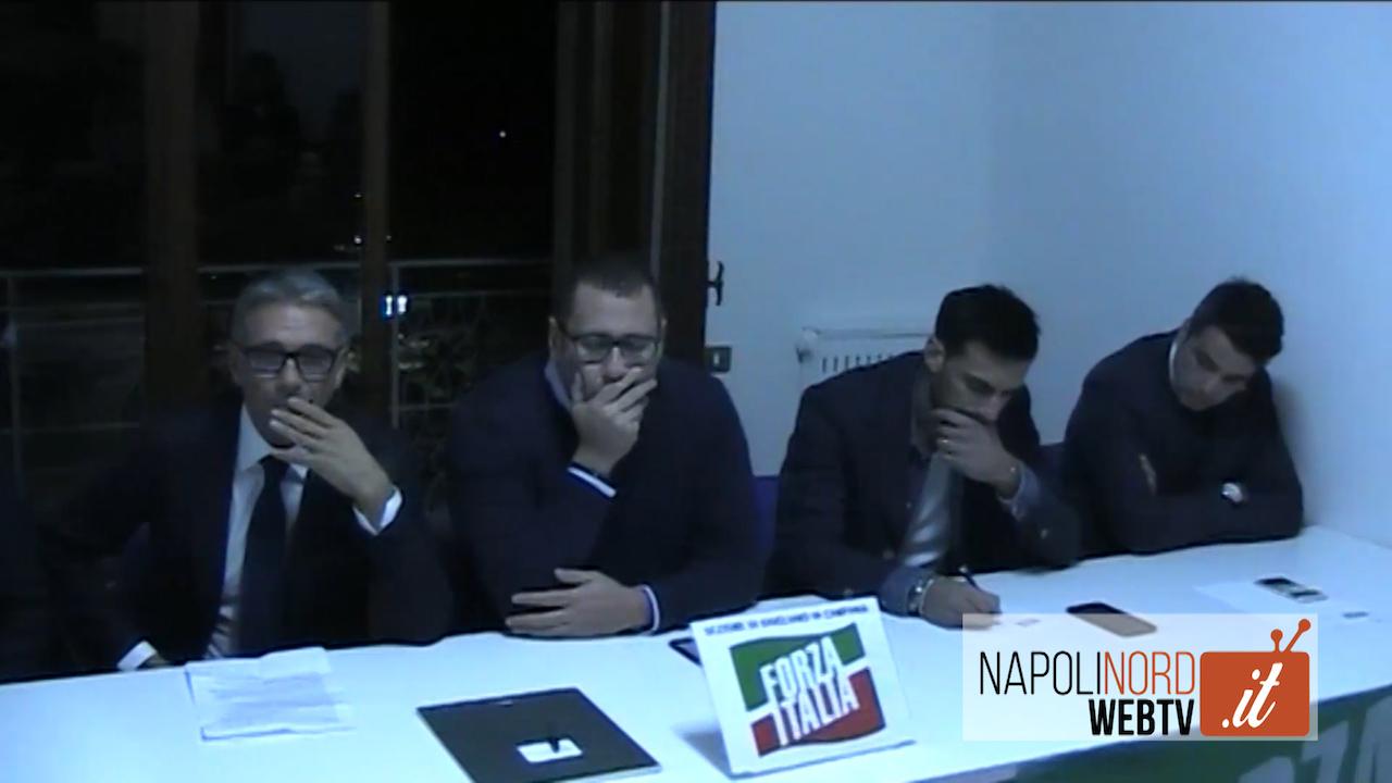 Forza Italia, a Giugliano la presentazione del nuovo direttivo locale. Video