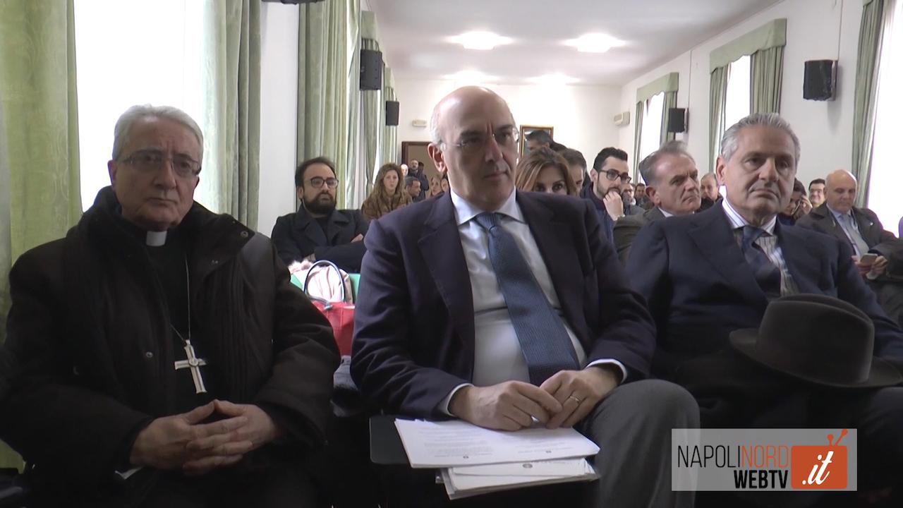 Etica e deontologia, incontro dell'Odcec con l'Ordine degli Avvocati di Napoli Nord con la chiesa. Video