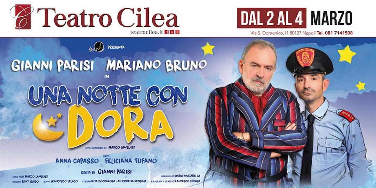 'Una notte con Dora', al teatro Cilea lo spettacolo con Mariano Bruno