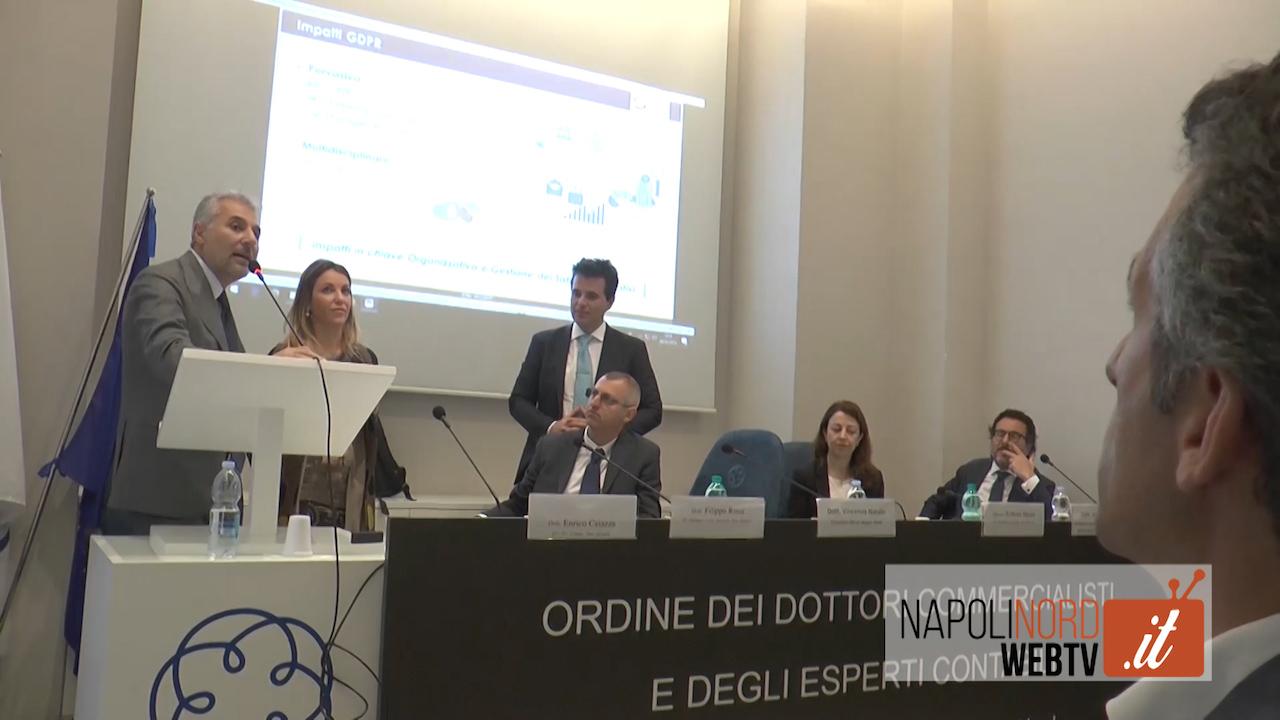 Frodi informatiche, arriva la nuova legge europea: i commercialisti di Napoli Nord incontrano gli esperti. Video
