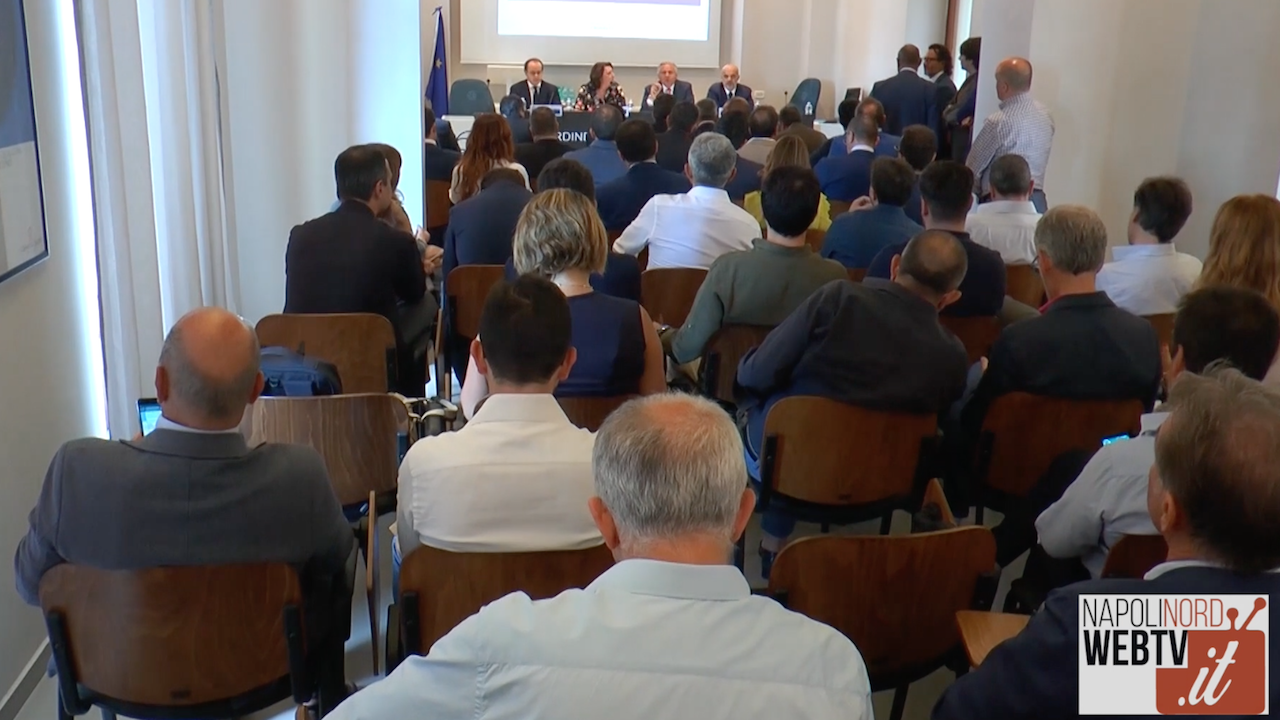 Legalità, all'Odcec Napoli Nord l'incontro tra commercialisti e tribunale. Video