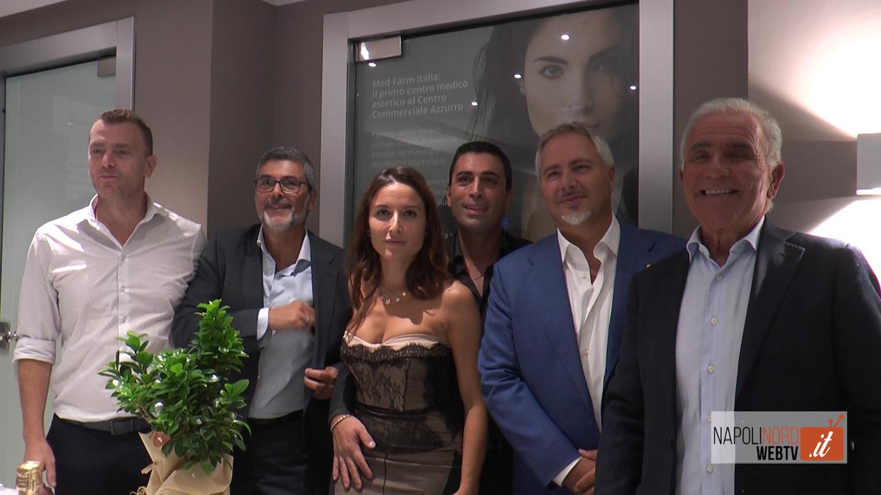 A Napoli apre il centro di medicina estetica Med Farm: specialisti ed esperti per la bellezza. VIDEO