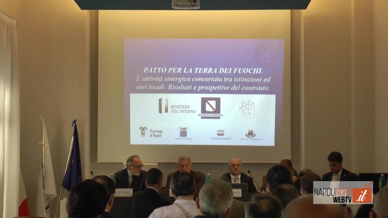 Terra dei fuochi, incontro all'Odcec Napoli Nord tra commercialisti ed istituzioni. Video