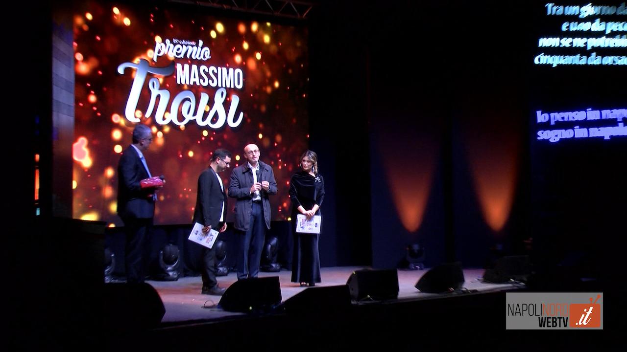 Premio Massimo Troisi, successo per la 18esima edizione della kermesse dedicata all'attore comico. Video