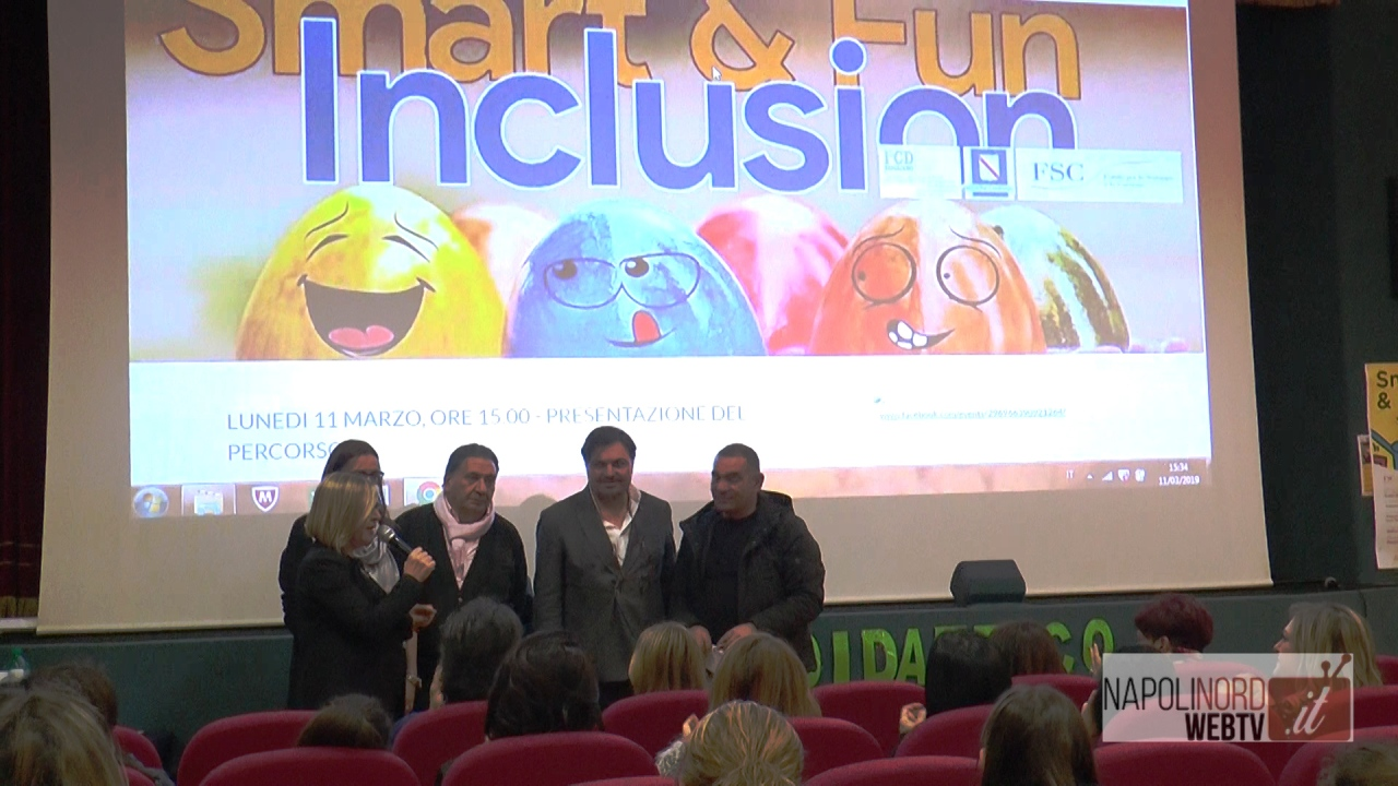 'Smart & Fun Inclusion', presentato il progetto di inclusione per gli alunni con disabilità. Video