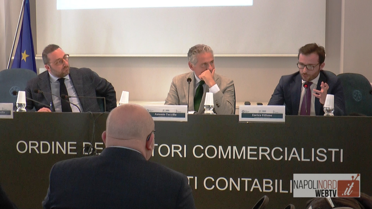 'La dogana incontra i consulenti d'impresa', workshop dei giovani commercialisti dell'Odcec Napoli Nord. Video