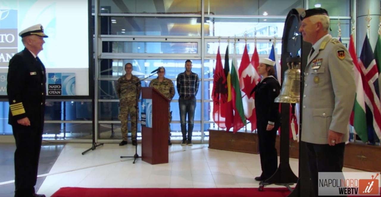 La Base Nato festeggia i settant'anni di storia. Incontro nella Jfc Command di Lago Patria. VIDEO