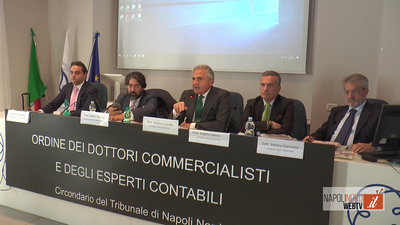 Nuove procedure per la crisi d'impresa, forum dell'Ordine dei Commercialisti di Napoli Nord. VIDEO