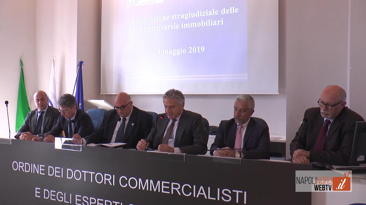 Commercialisti, nuovi strumenti per le controversie immobiliari: incontro all'Odcec Napoli Nord. VIDEO