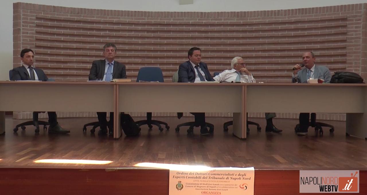 Gestione e controllo delle società pubbliche all'insegna dell'efficienza: commercialisti dell'Odcec Napoli Nord a confronto. Video